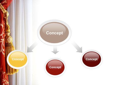 Curtain PowerPoint Template Slide 4
