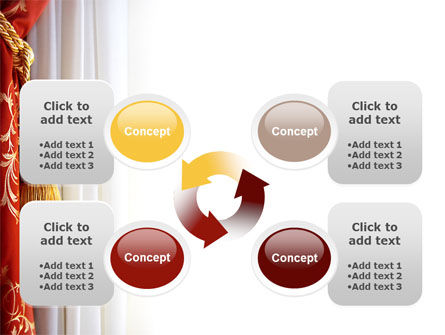 Curtain PowerPoint Template Slide 9