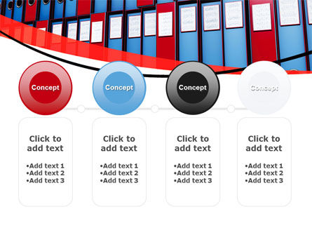 Record Keeping Office PowerPoint Template Slide 5