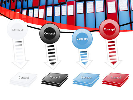 Record Keeping Office PowerPoint Template Slide 8