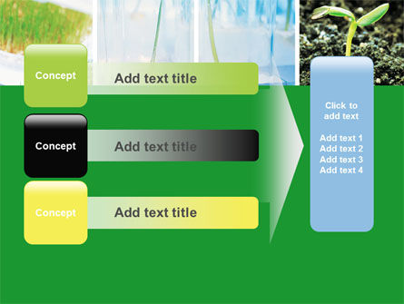 Free Plant Breeding In Laboratory PowerPoint Template Slide 12