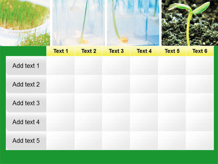 Plant Breeding In Laboratory Free PowerPoint Template Slide 15