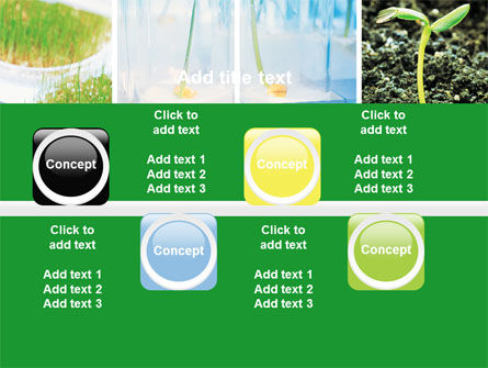 Plant Breeding In Laboratory Free PowerPoint Template Slide 19