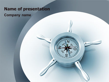 Steering Wheel PowerPoint Template