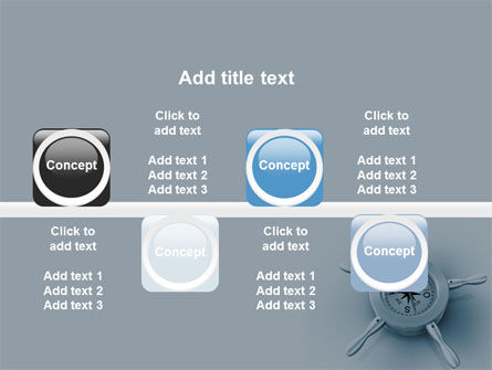 Steering Wheel PowerPoint Template Slide 19