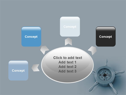 Steering Wheel PowerPoint Template Slide 7