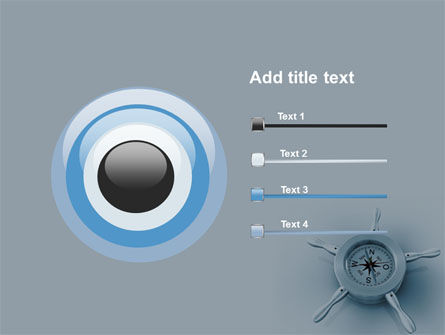 Steering Wheel PowerPoint Template Slide 9