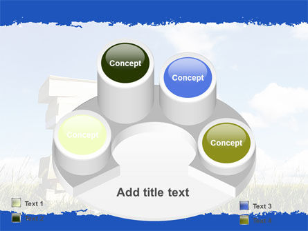 Book Pile PowerPoint Template Slide 12