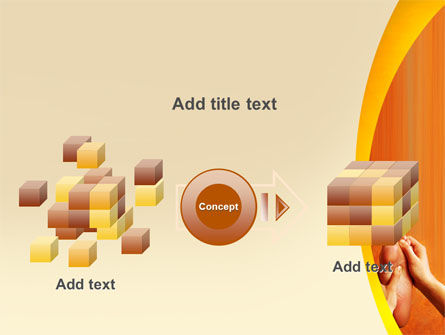 Feet Massage PowerPoint Template Slide 17