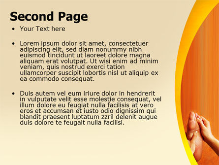 Feet Massage PowerPoint Template Slide 2