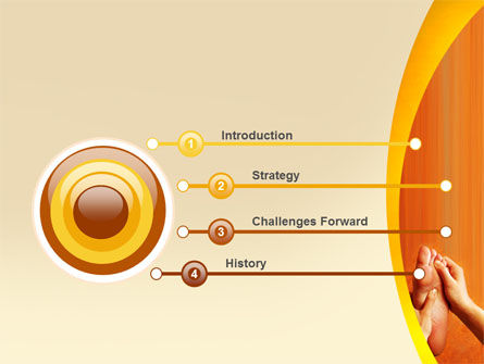 Feet Massage PowerPoint Template Slide 3