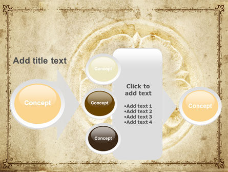 Wall Relief PowerPoint Template Slide 17