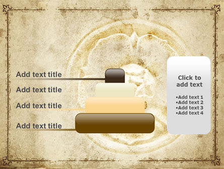 Wall Relief PowerPoint Template Slide 8
