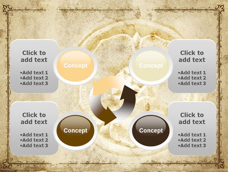 Wall Relief PowerPoint Template Slide 9