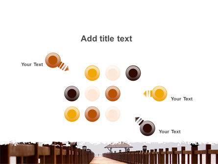 Beach Pier PowerPoint Template Slide 10