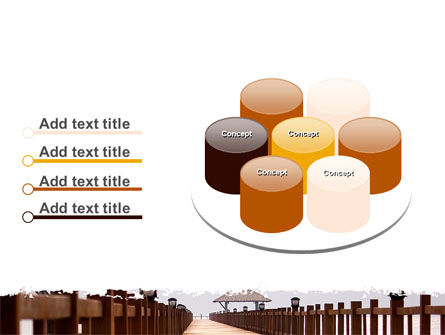 Beach Pier PowerPoint Template Slide 12
