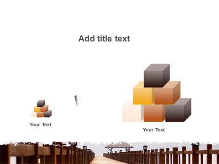 Beach Pier PowerPoint Template Slide 13
