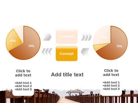Beach Pier PowerPoint Template Slide 16