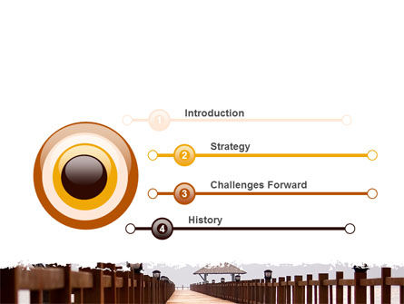Beach Pier PowerPoint Template, Slide 3, 06200, Business Concepts — PoweredTemplate.com
