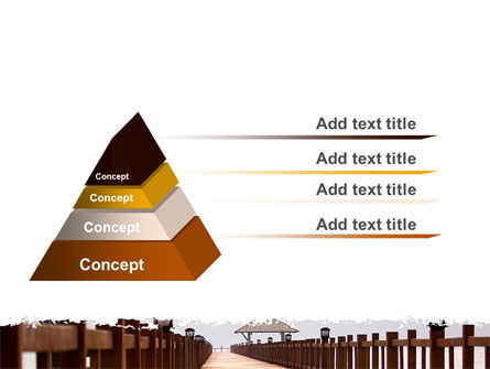 Beach Pier PowerPoint Template, Slide 4, 06200, Business Concepts — PoweredTemplate.com