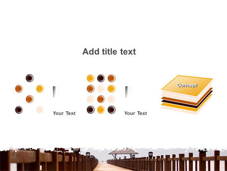Beach Pier PowerPoint Template Slide 9