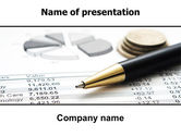 Financial/Accounting: Budgeting PowerPoint Template #06201