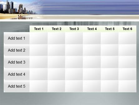City Beach PowerPoint Template Slide 15