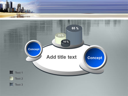 City Beach PowerPoint Template Slide 16