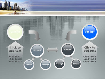 City Beach PowerPoint Template Slide 19