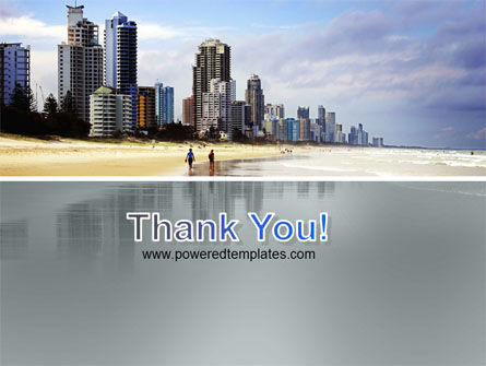City Beach PowerPoint Template Slide 20