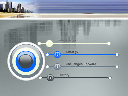 City Beach PowerPoint Template Slide 3