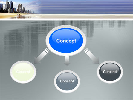 City Beach PowerPoint Template Slide 4