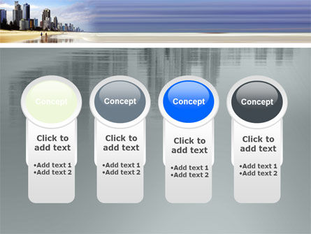City Beach PowerPoint Template Slide 5