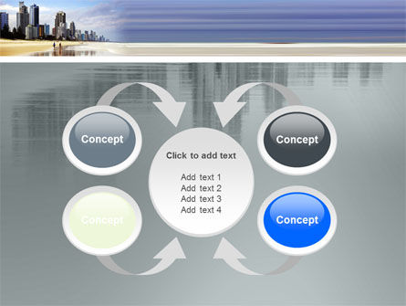 City Beach PowerPoint Template Slide 6