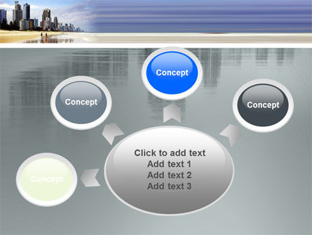 City Beach PowerPoint Template Slide 7