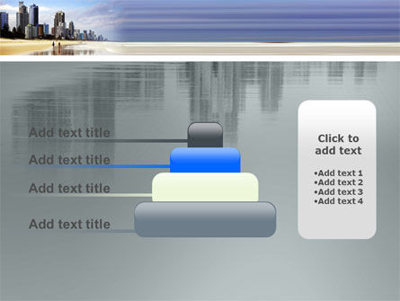 City Beach PowerPoint Template Slide 8