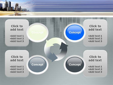 City Beach PowerPoint Template Slide 9