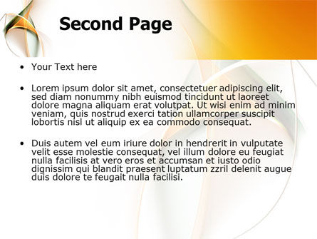 Lines PowerPoint Template Slide 2