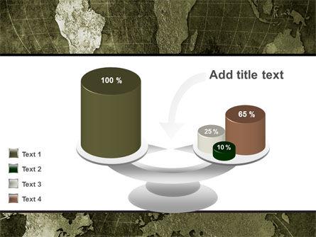 Metal Map PowerPoint Template Slide 10