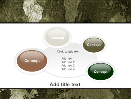 Metal Map PowerPoint Template Slide 16