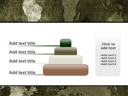 Metal Map PowerPoint Template Slide 8