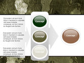 Metal Map PowerPoint Template#11