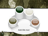 Metal Map PowerPoint Template#12