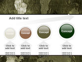 Metal Map PowerPoint Template#13