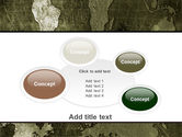 Metal Map PowerPoint Template#16