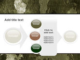 Metal Map PowerPoint Template#17