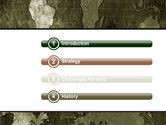 Metal Map PowerPoint Template#3
