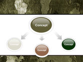 Metal Map PowerPoint Template#4
