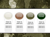 Metal Map PowerPoint Template#5