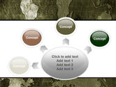 Metal Map PowerPoint Template#7